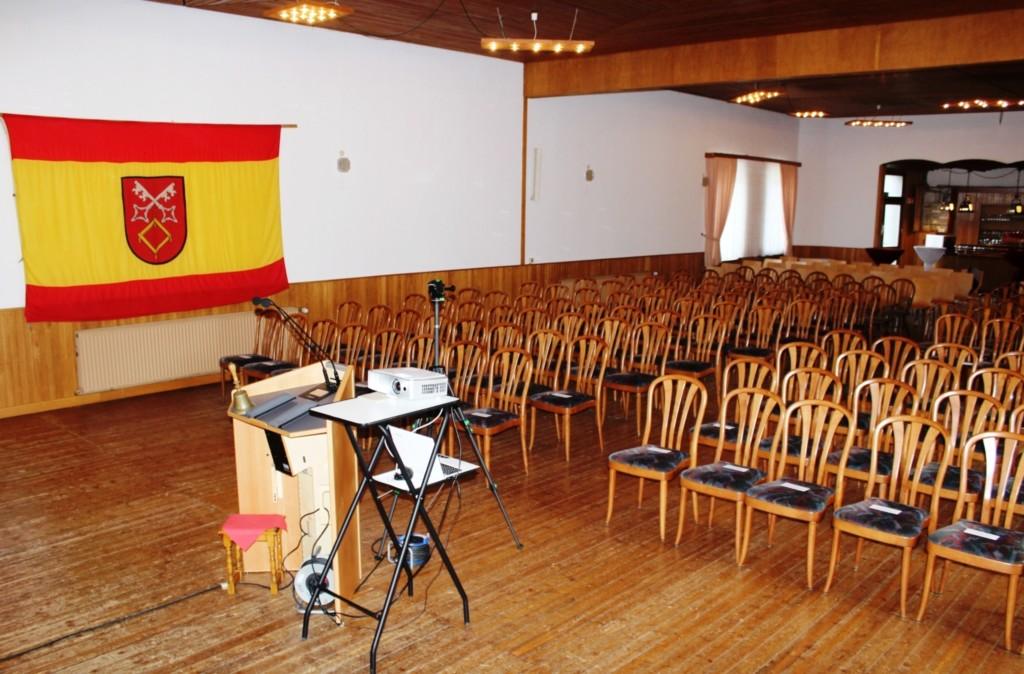 """Saal des DGH """"Zum Kirschen"""""""